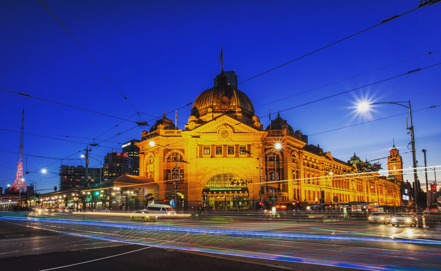 One of the iconic buildings in Melbourne, Flinders Street Station is a must see when you in this lovely city