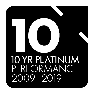 10 Year Platinum Performance