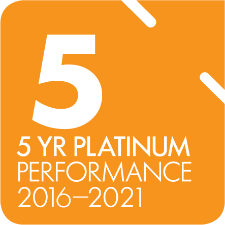 5 Year Platinum Performance